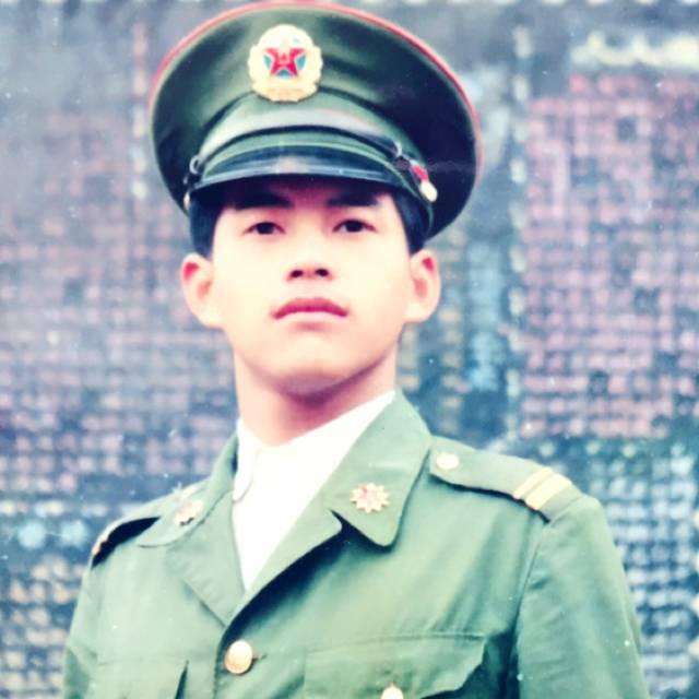 参战老兵的照片