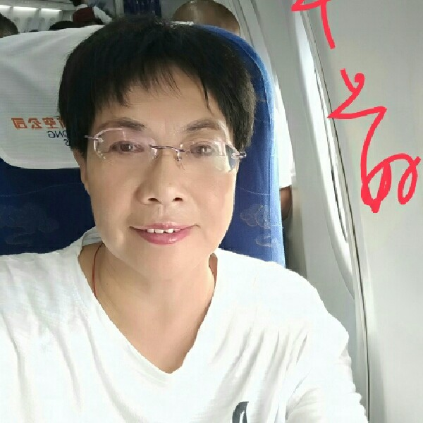 眼镜姐的照片